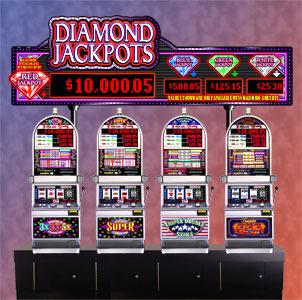 Diamond Jackpots Multi-Level Progressive