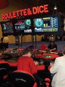 Interblock Installs E-Tables at Century Downs
