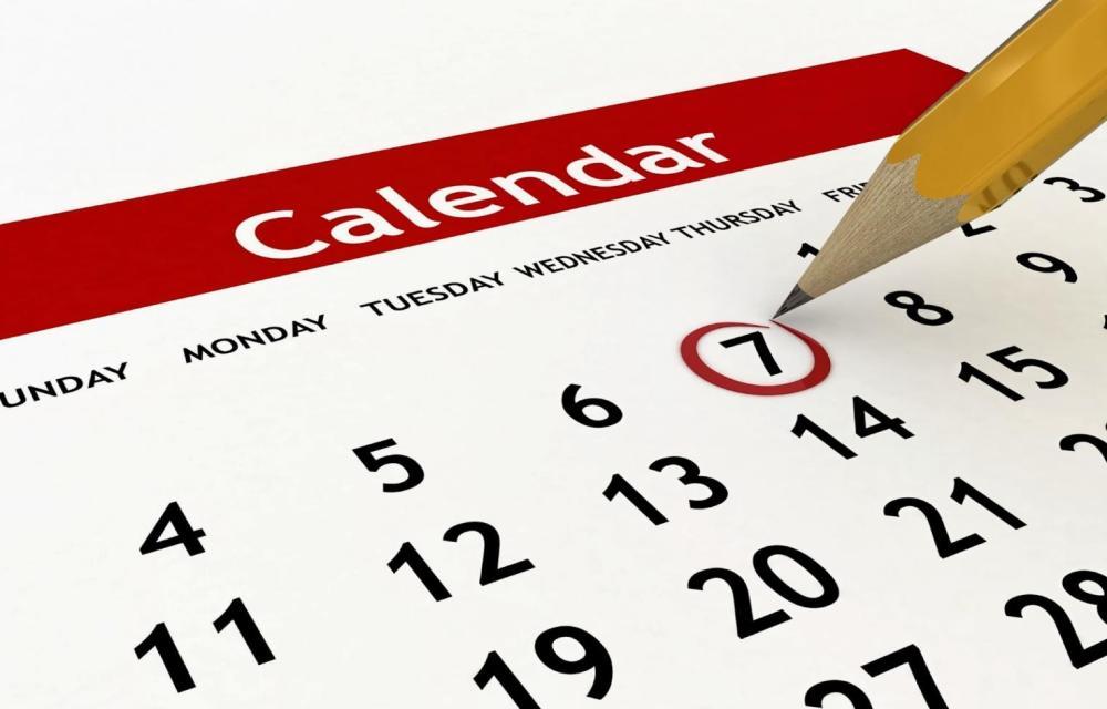 Casino Calendar, April 2016