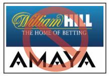 William Hill, Amaya Merger Off