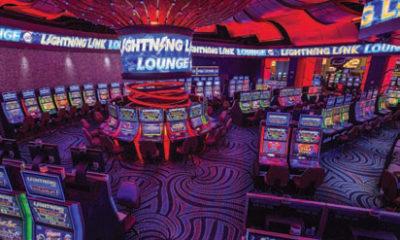 Aristocrat Installs Largest West-Coast 'Lightning  Link Lounge'