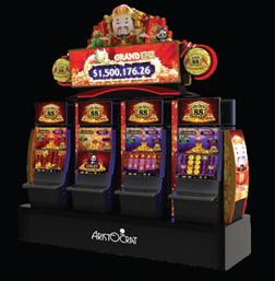Aristocrat Releases New Linked Game in Macau