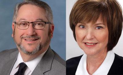 Alan Feldman and Christine Reilly