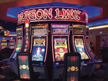 Aristocrat's Dragon Link Debuts in Tampa