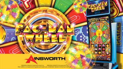 Ainsworth Debuts PAC-MAN Wheel