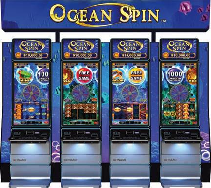 Konami Launches Ocean Spin Series