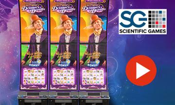 Scientific Games: New Mural Slot Cabinet