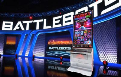 Konami Launches BattleBots Slot